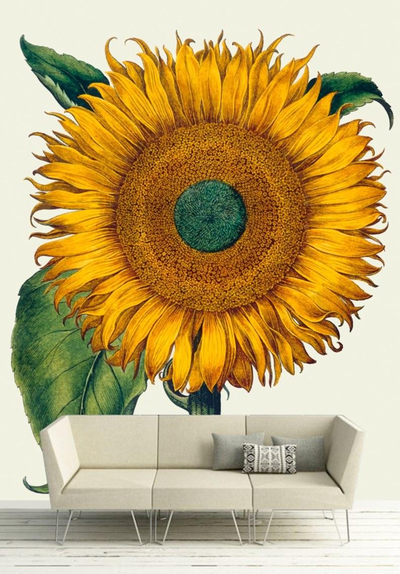 Sun Flower Wall Art