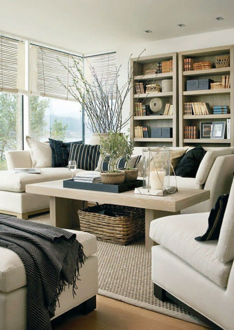 5 Charming Cream Living Room Ideas For Your Apartment