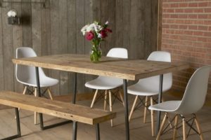 Industrial Reclaimed Dining Room Set