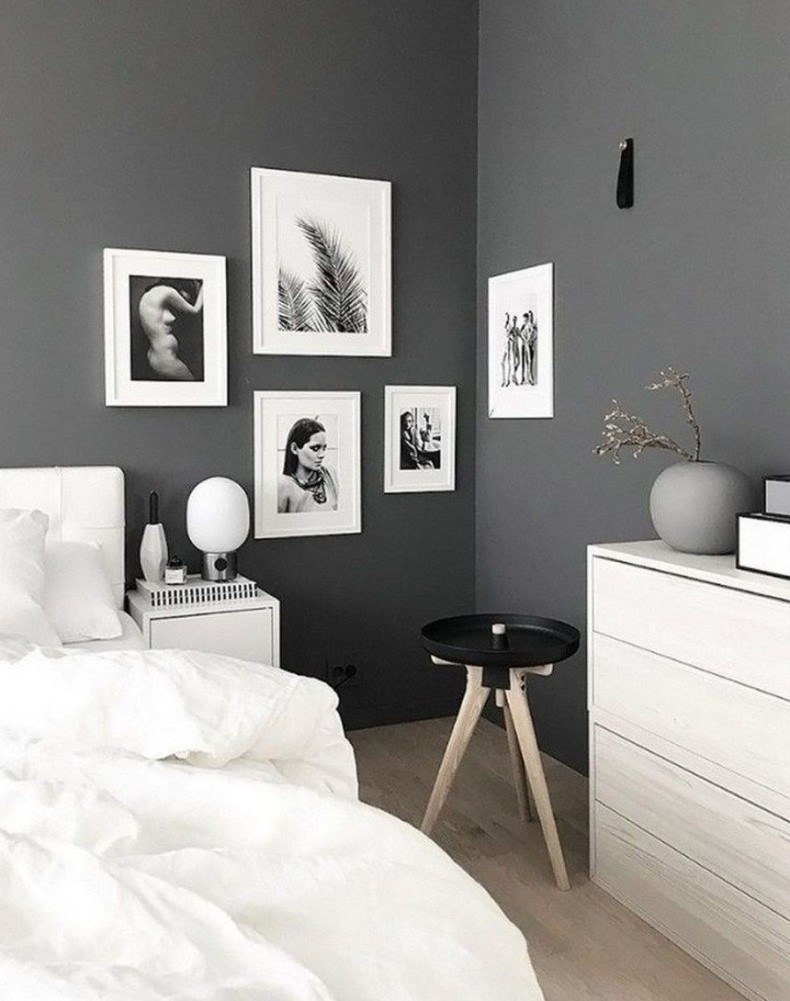 Modern Stone Grey Bedroom