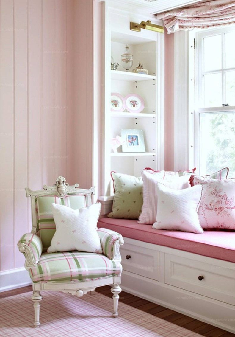 Alcove Reading Nook Girl Room