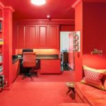 Monochromatic Red Interior Design Rooms in Your House: Cherry Themes