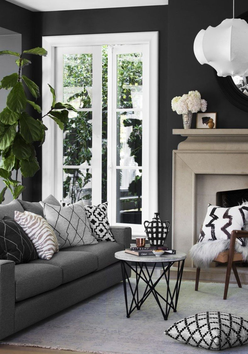Classic hallways can be chic and posh if you will use beautiful gray sofa ideas for them.