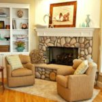Fabulous Fireplaces With Best Stone Mantel Ideas