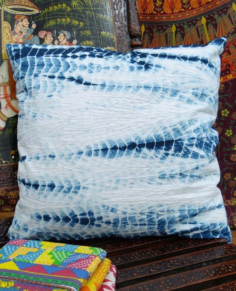 Pillow Tie Dye Print Decorative Cushion Cover