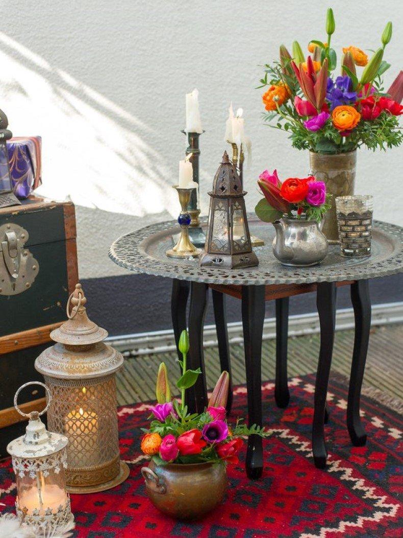 Boho Coffee Table Decor