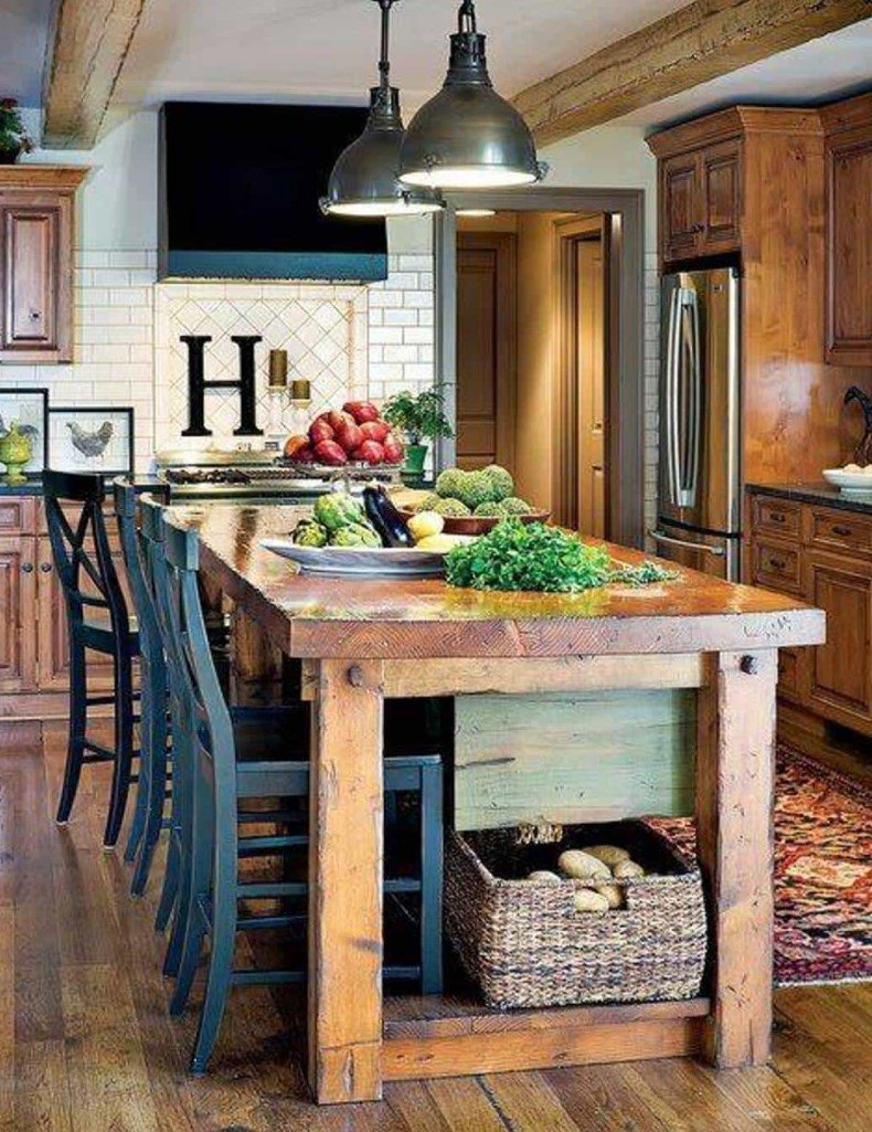 Awesome Rustic Kitchen Table Ideas