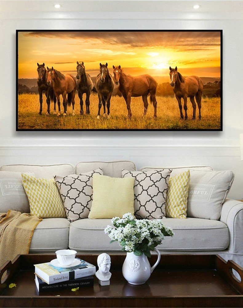 Horse Poster Wall Decor