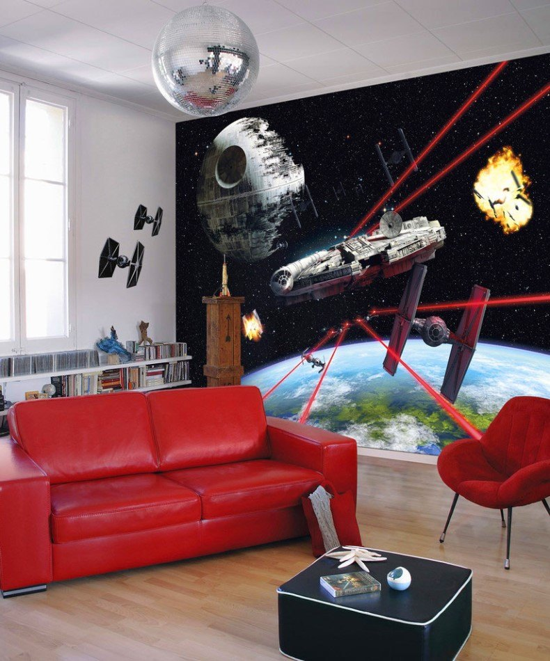 Star Wars Living Room Decor Ideas