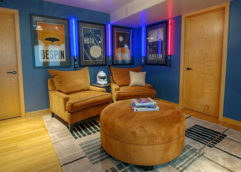 Star Wars Living Room Decor