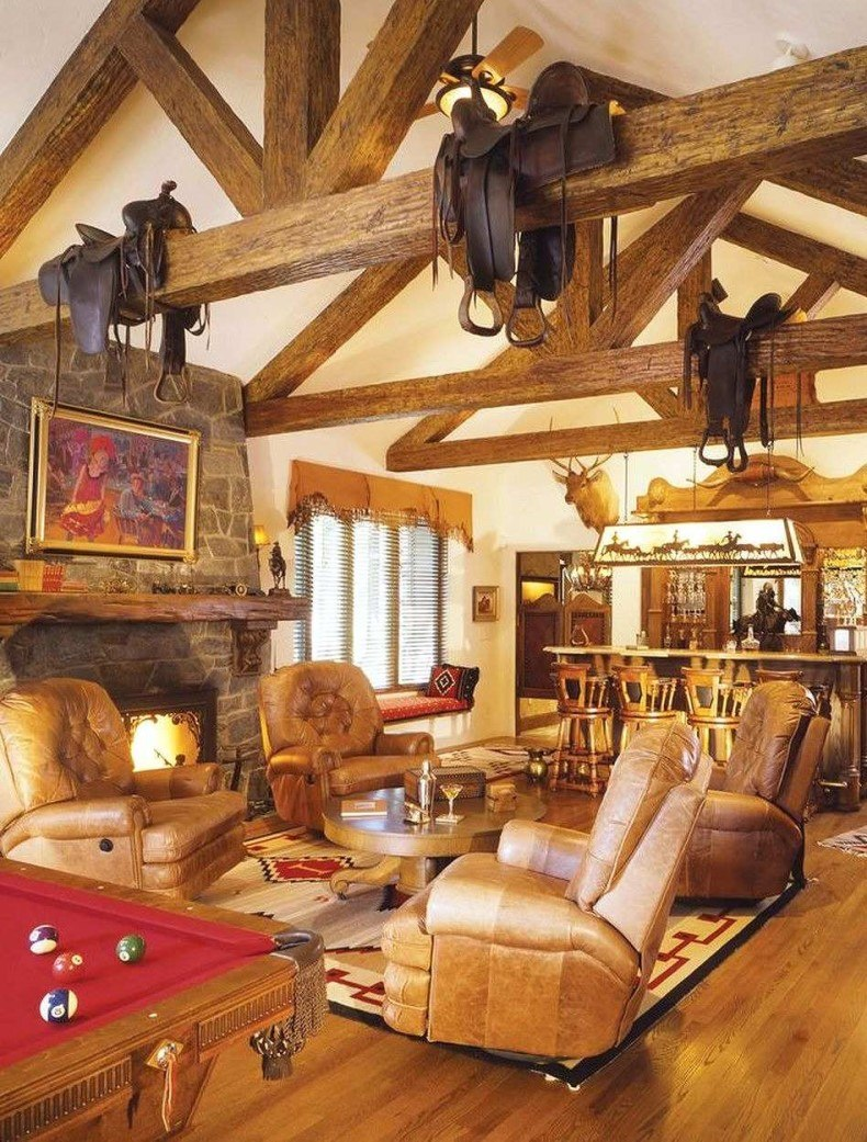 You will like to bring at your place a horse living room decor.