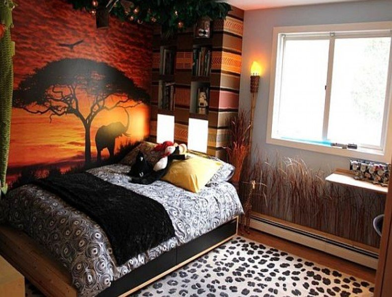 African Themed Bedding