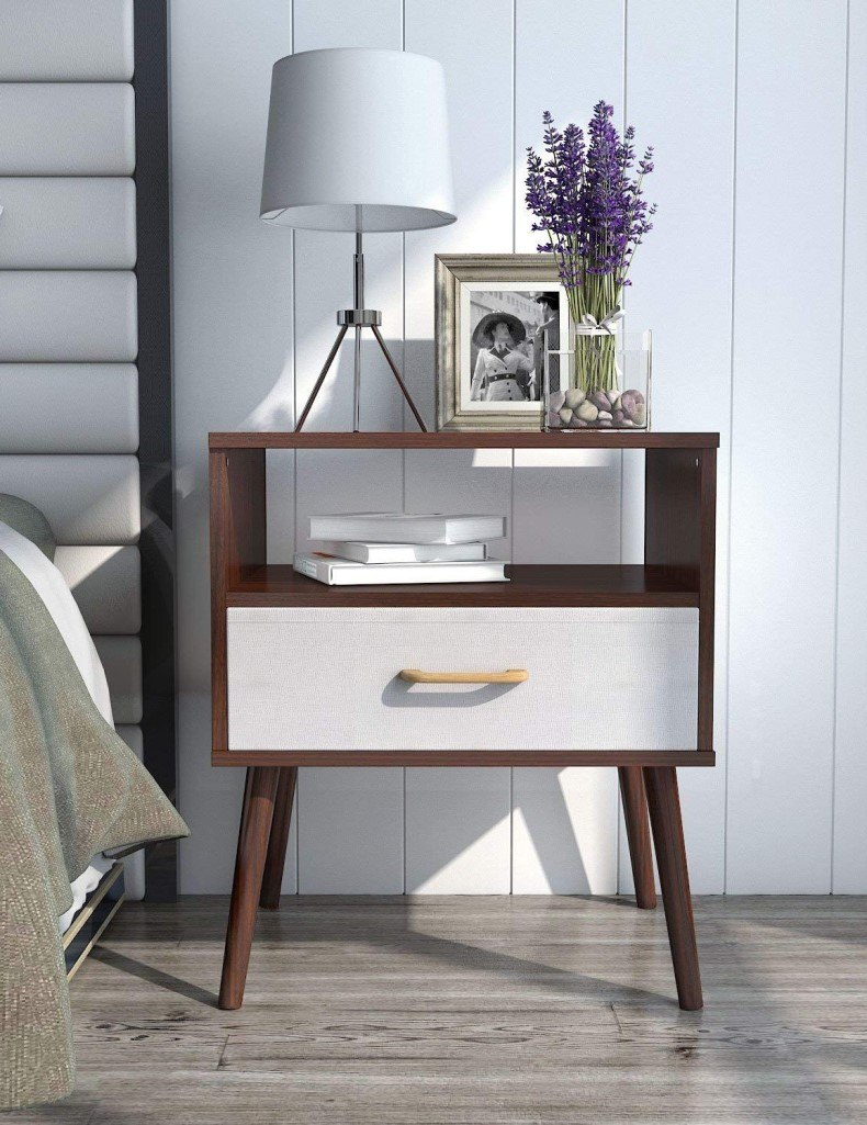 Modern Design With Bedside Table