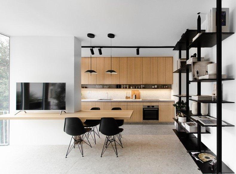 Open Space Kitchen Design