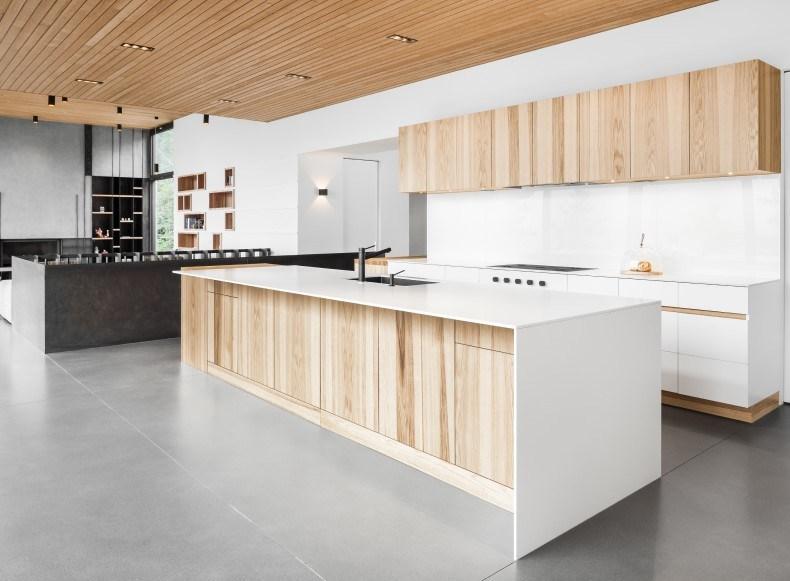 Solid White Kitchen Countertops