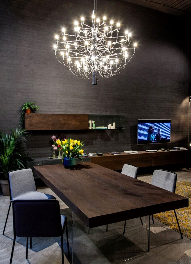 Dining Table Crystal Chandelier